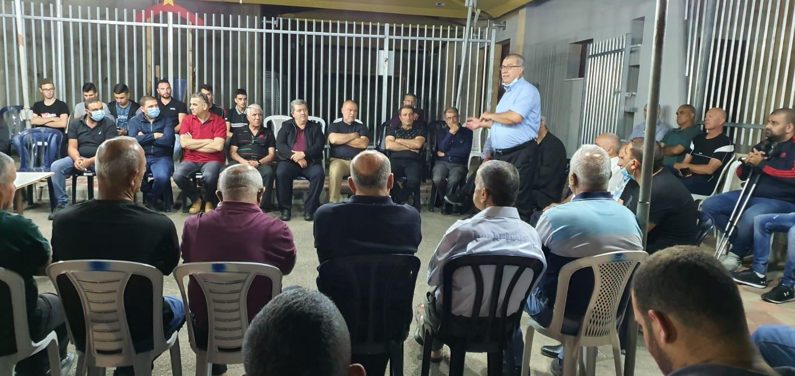 بركة في نحف: التضامن الشعبي يساهم في منع جريمة هدم البيوت-2