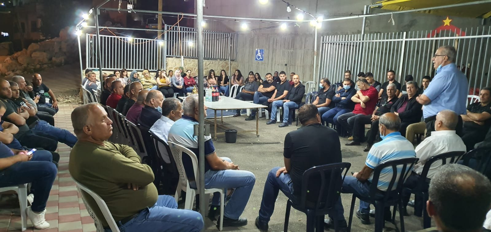 بركة في نحف: التضامن الشعبي يساهم في منع جريمة هدم البيوت-3