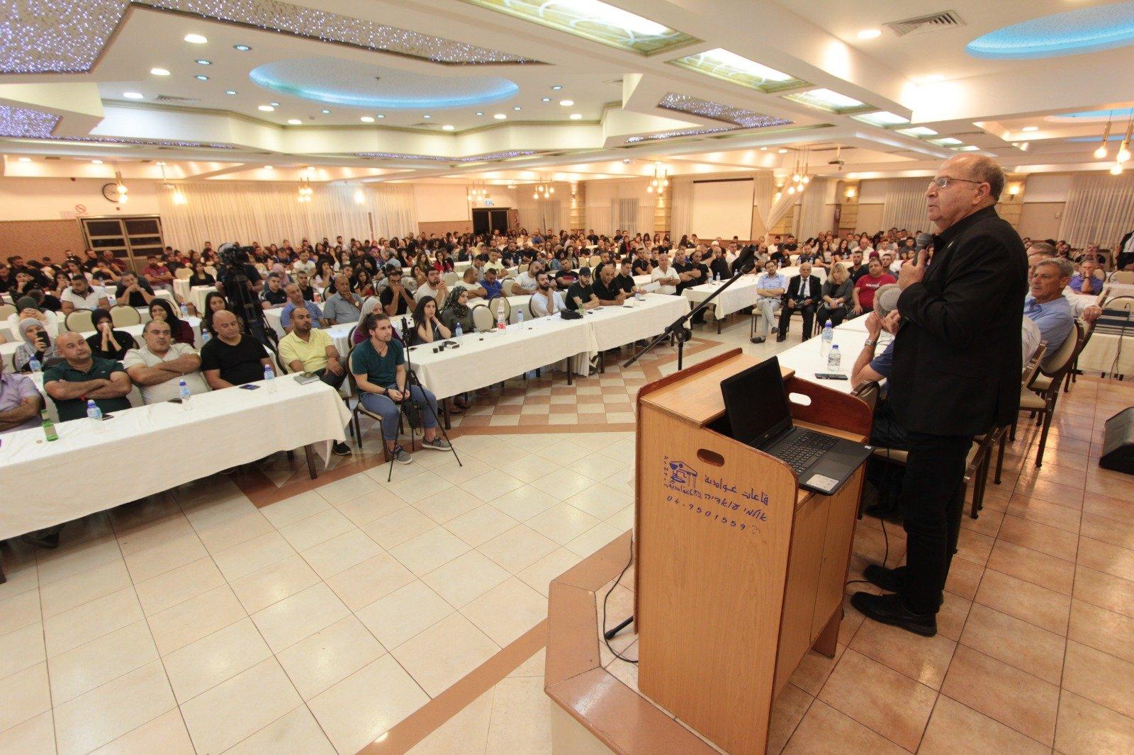 نيسان كورن في شفاعمرو: الانتخابات يوم الثلاثاء هي على المستقبل