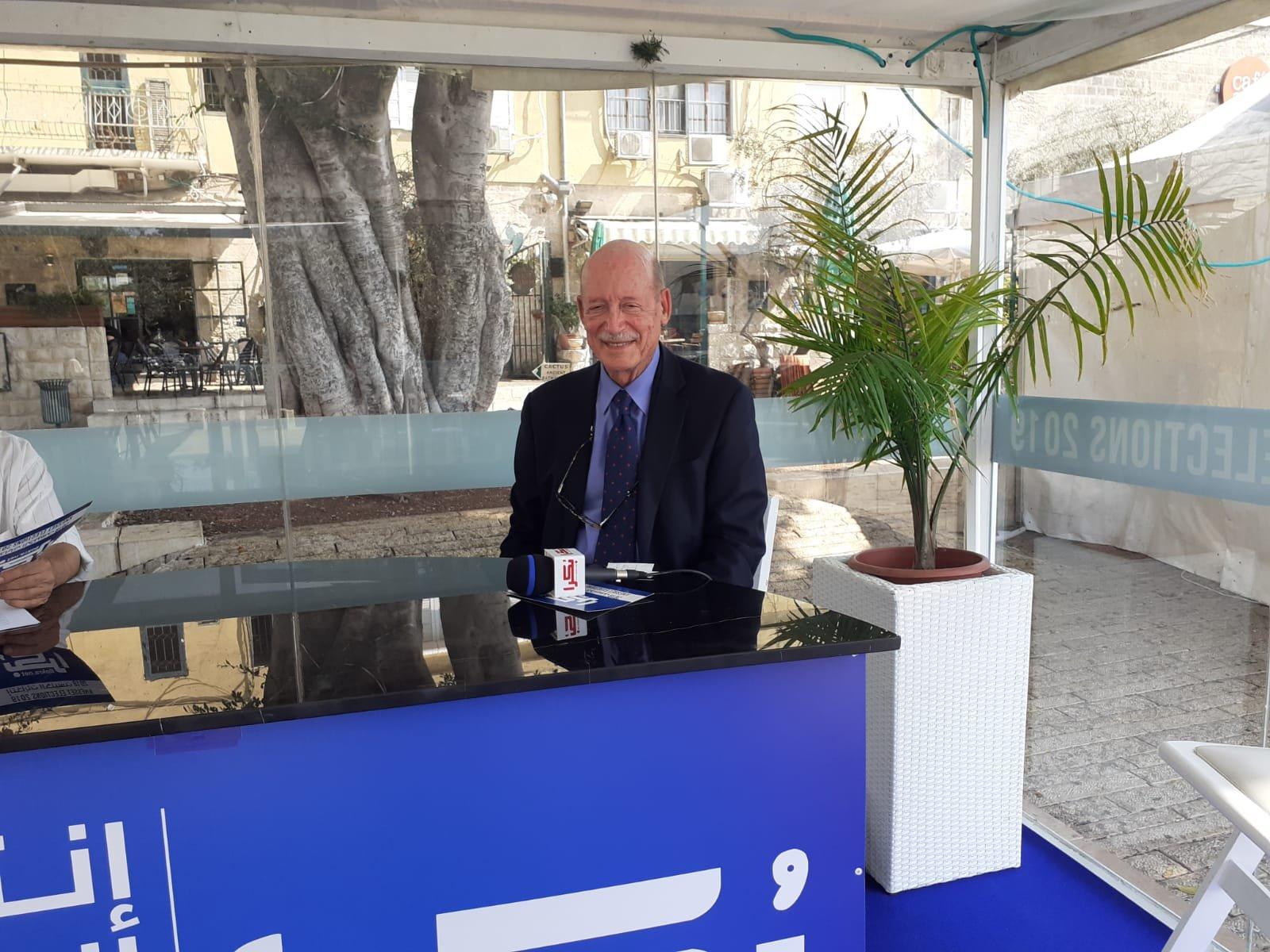ستوديو بكرا انتخابات- ايلي شطرايت: الجو العام معاد للعرب، وأثق بأن الجمهور العربي يستطيع المساهمة بالتغيير
