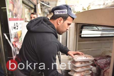 الناصرة:مصادرة 300 كغم من اللحوم المذبوحة بطريقة غير قانونية