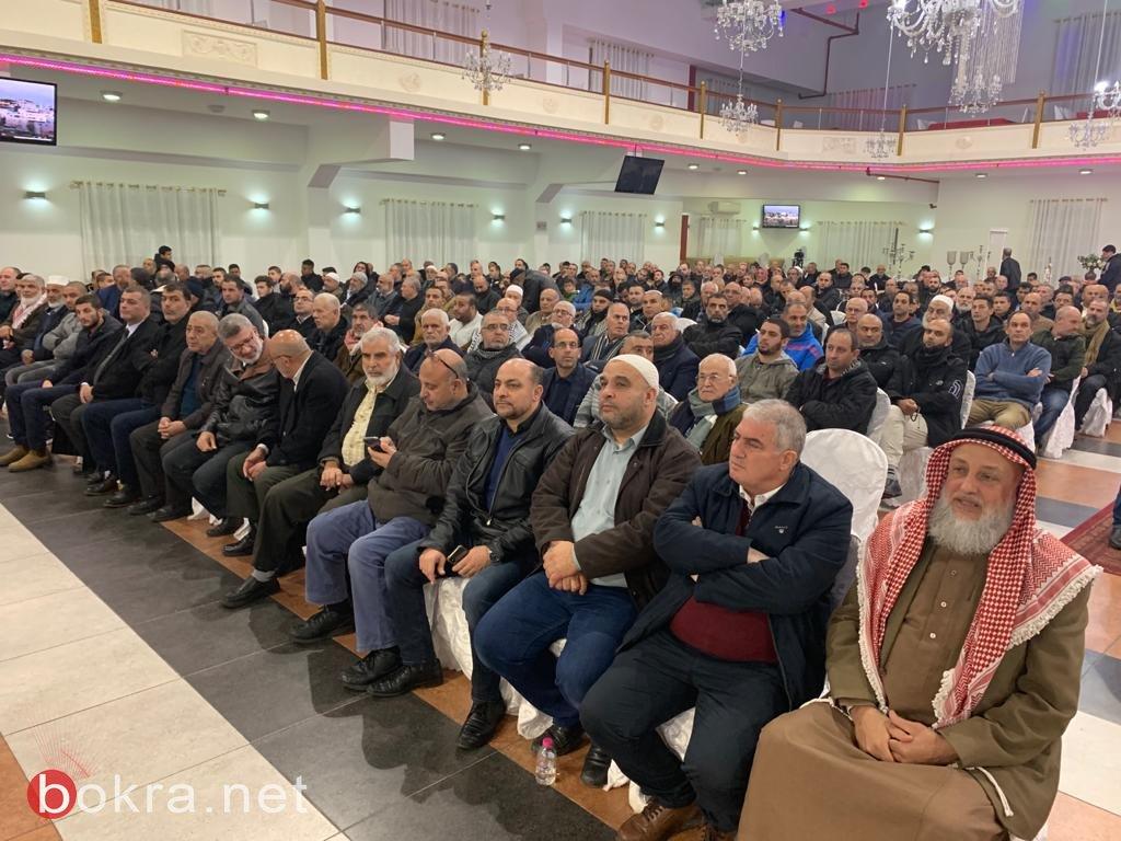 اهالي طمرة والجليل يشاركون في الأمسية المقدسية دعمًا للمسجد الأقصى