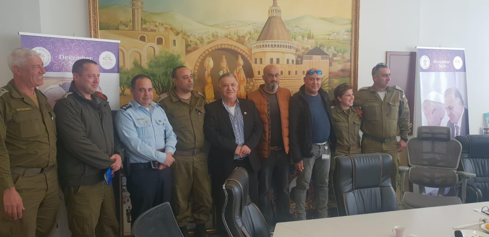 لجنه الطوارئ في بلدية الناصرة تعقد جلسه عمل مع الجبهة الداخلية-5