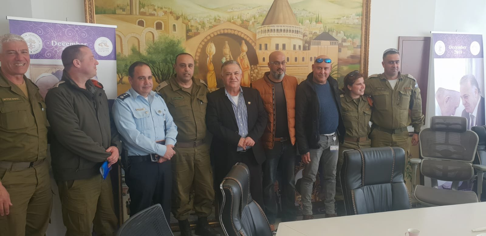 لجنه الطوارئ في بلدية الناصرة تعقد جلسه عمل مع الجبهة الداخلية-6