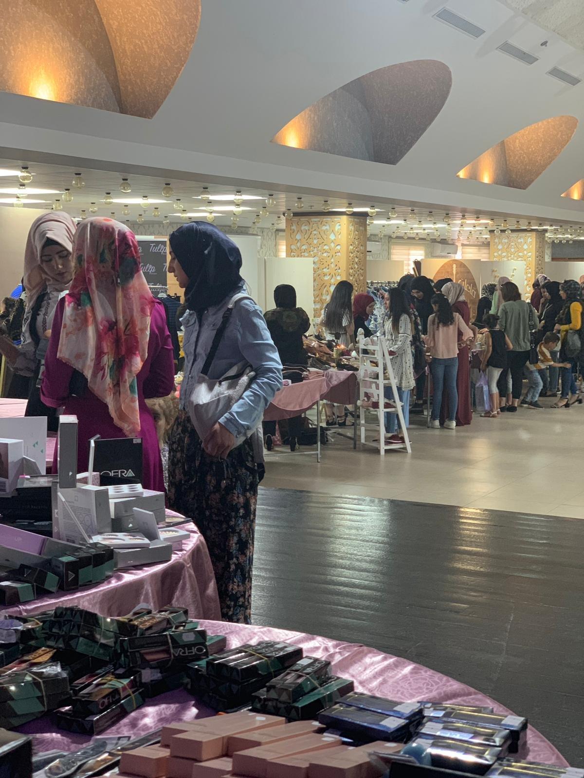 ام الفحم: تنظيم ازدهرت بمبادرة الناشطة الاجتماعية هبة شحادة لدعم للحياة بصمة