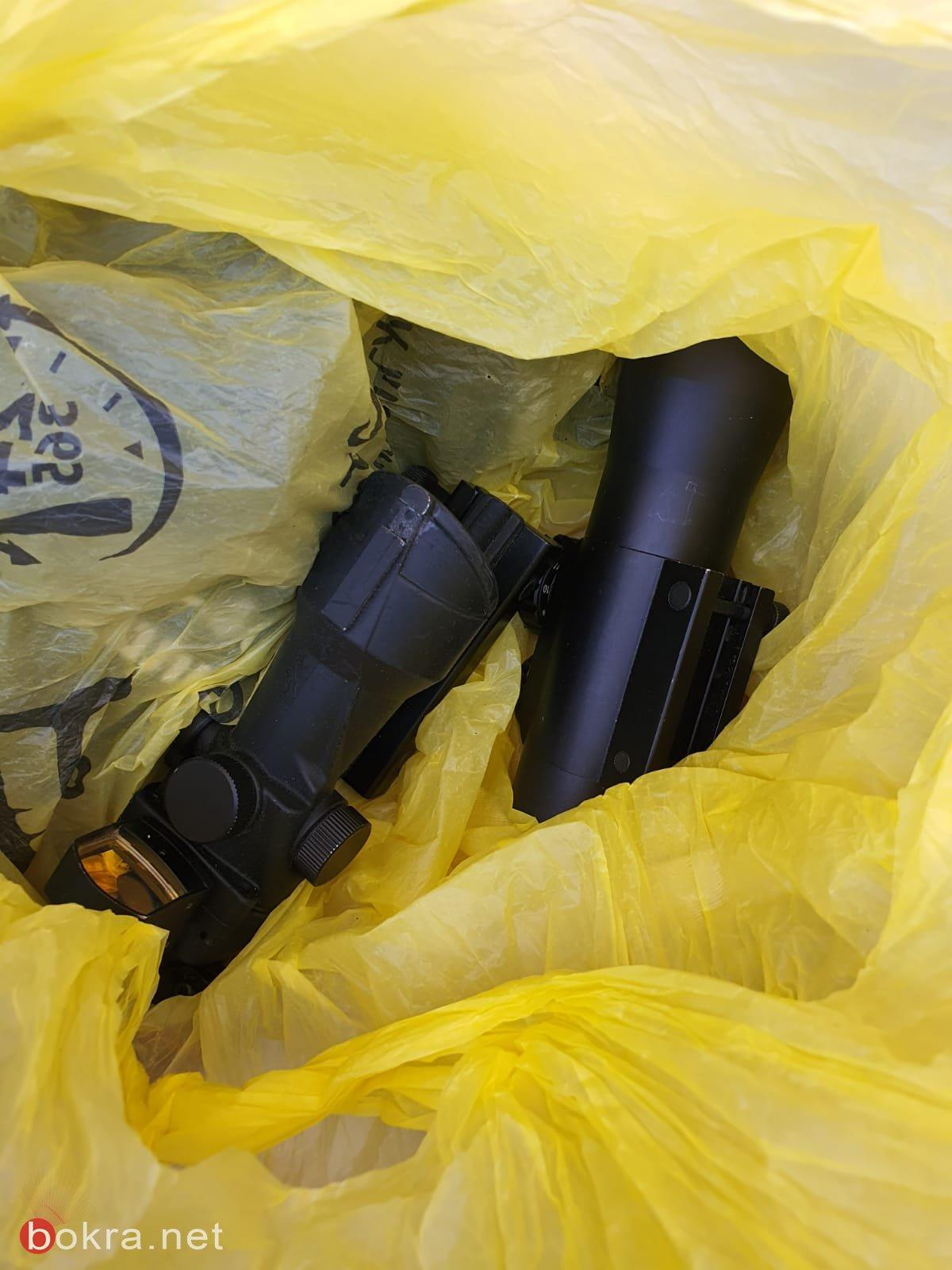 شقيب السلام: اعتقال 4 مشتبهين بشبهة حيازة اسلحة غير قانونية