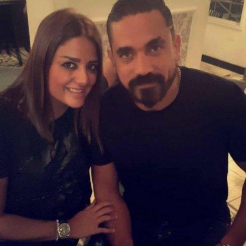 صور تجمع الفنان أمير كرارة مع زوجته... تعرفوا عليها
