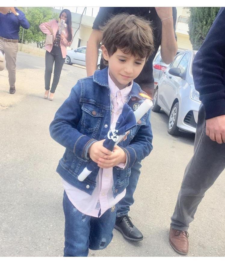 ابن عادل كرم كبر وهكذا أصبح.. خاله أيضاً ممثل مشهور