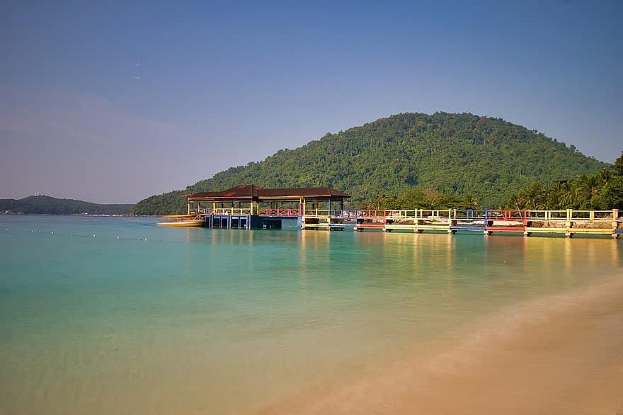 سياحة الجزر: الاسترخاء والغوص في فرهنتين بماليزيا