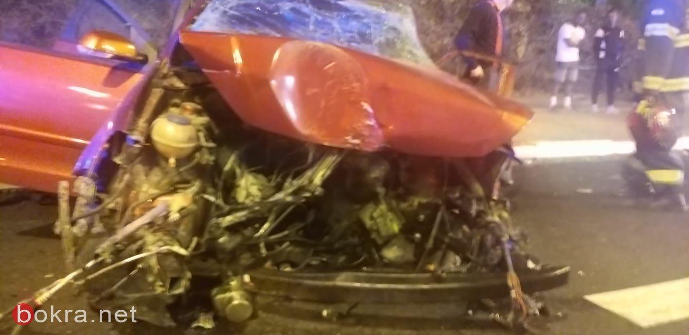 اصابة خطيرة في حادث طرق على طريق عكا- كريات بيالك