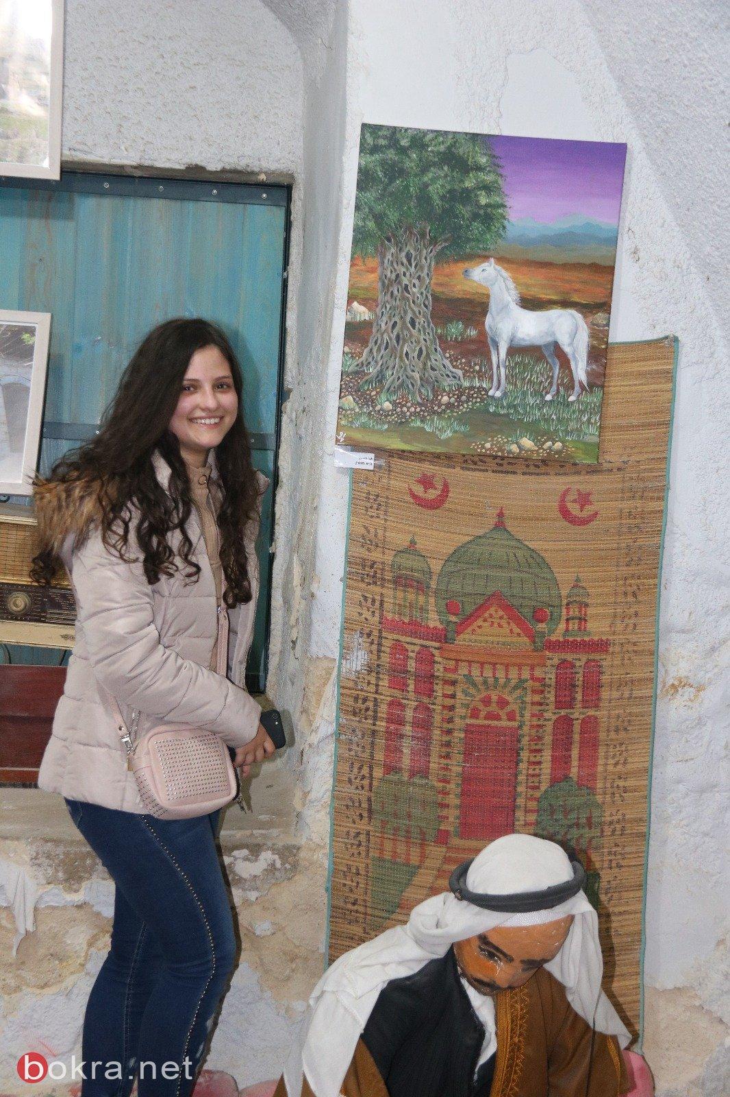 مركز التراث العربي في سخنين يستضيف المعرض التشكيلي  شجرة الزيتون 3