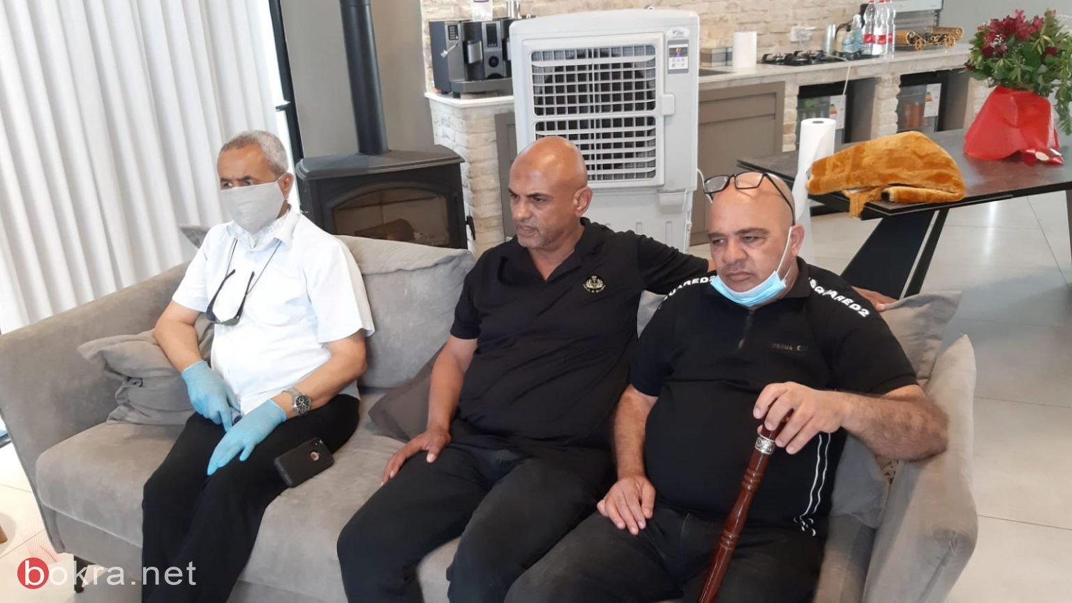 """اللد : عقد راية الصلح بين عائلتي """" ابو غانم"""" والجاروشي"""