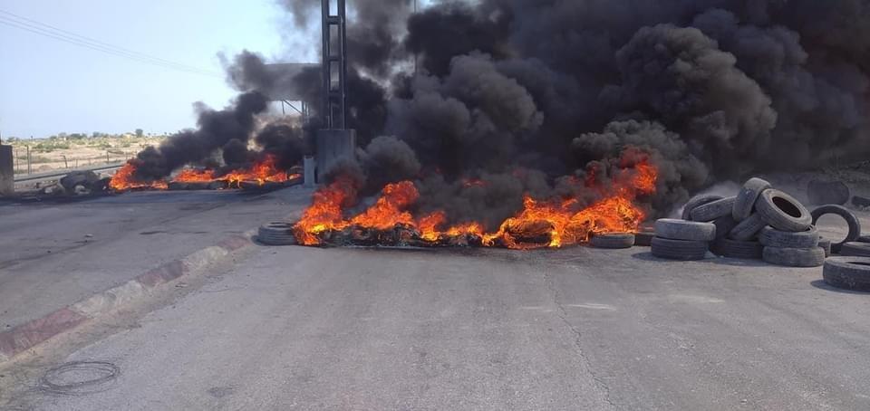 شهيد وعشرات الإصابات خلال مواجهات مع الاحتلال شمال البيرة-1