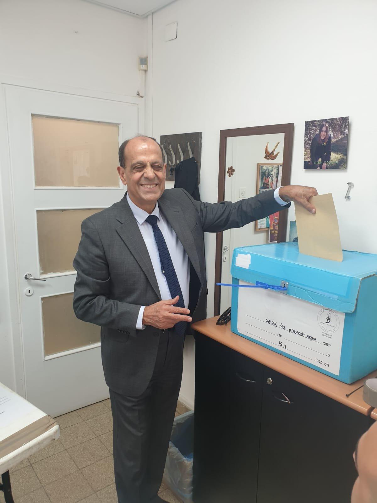 محامو لواء الشمال بين مصالحة ونعامنة ونسبة التصويت وصلت الى 30%