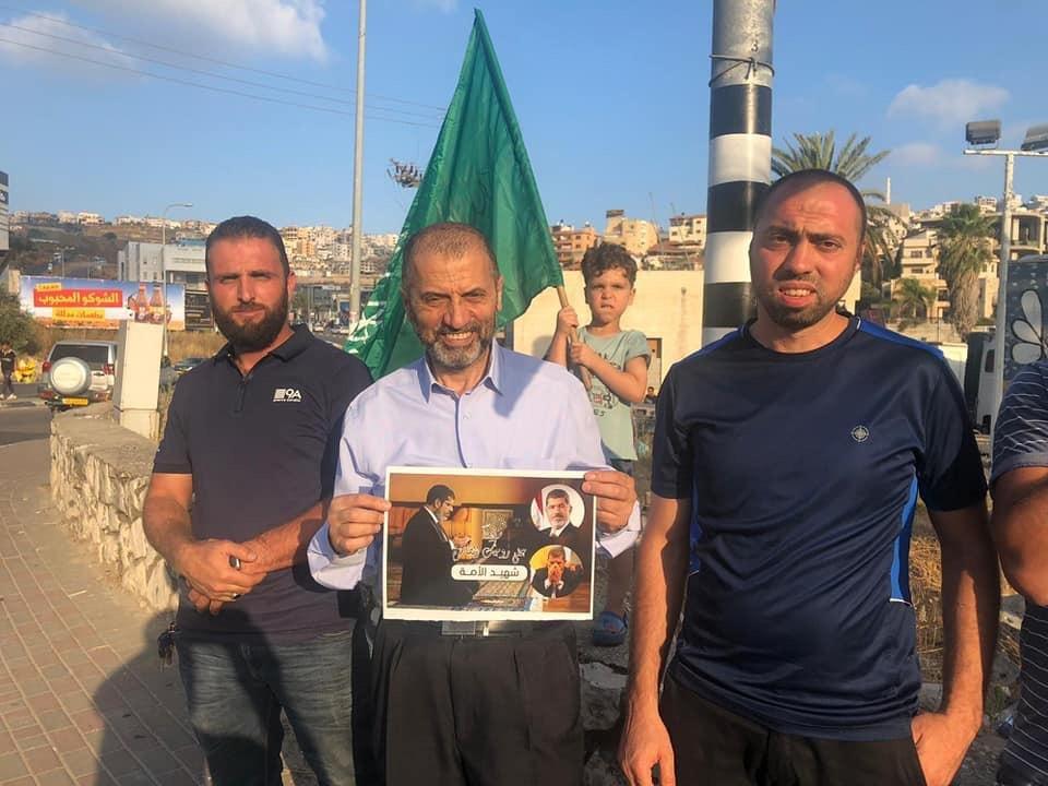 ام الفحم: وقفة حداد على الرئيس المصري الأسبق محمد مرسي