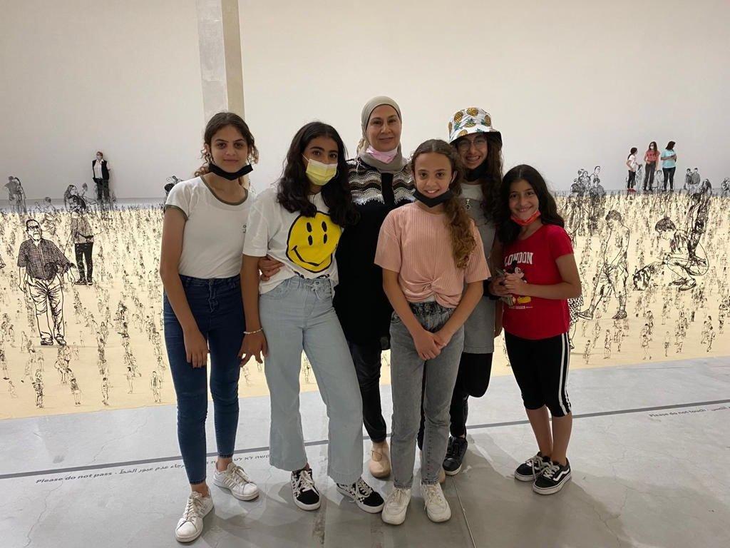 طلاب طمرة  وقلنسوة بزيارة لمتحف تل ابيب-0