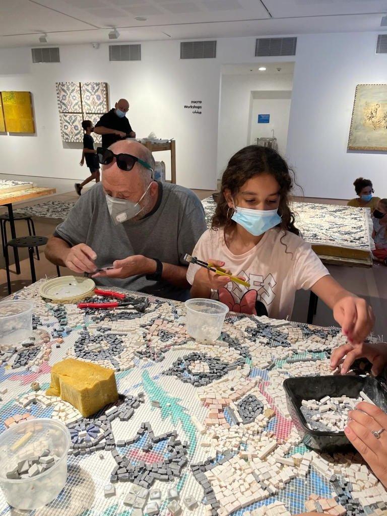 طلاب طمرة  وقلنسوة بزيارة لمتحف تل ابيب-1