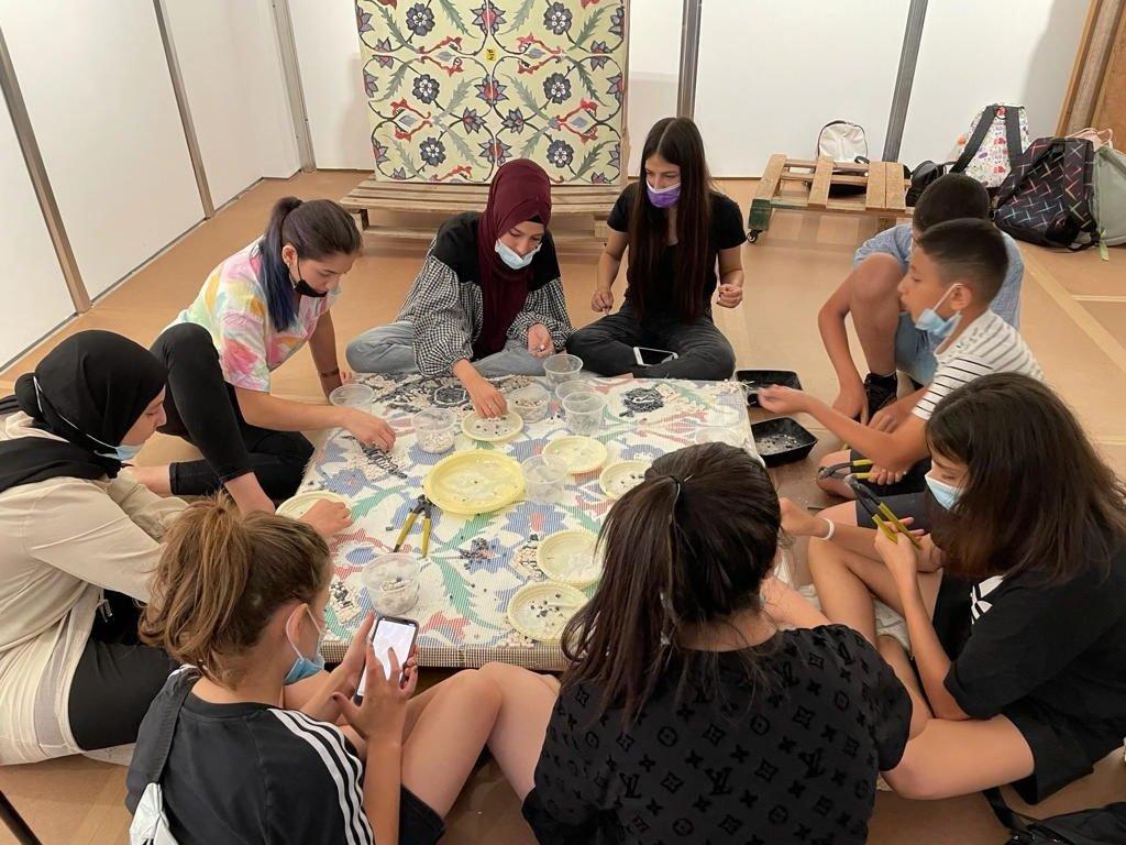 طلاب طمرة  وقلنسوة بزيارة لمتحف تل ابيب-3