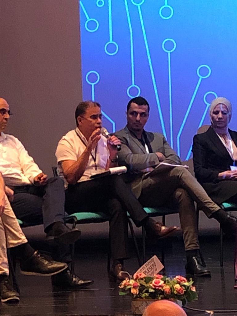 """لئومي يواصل تعزيز نشاطاته في المجتمع العربي ويشارك في """"مؤتمر ريادة الأعمال 2021 """" في أم الفحم-1"""