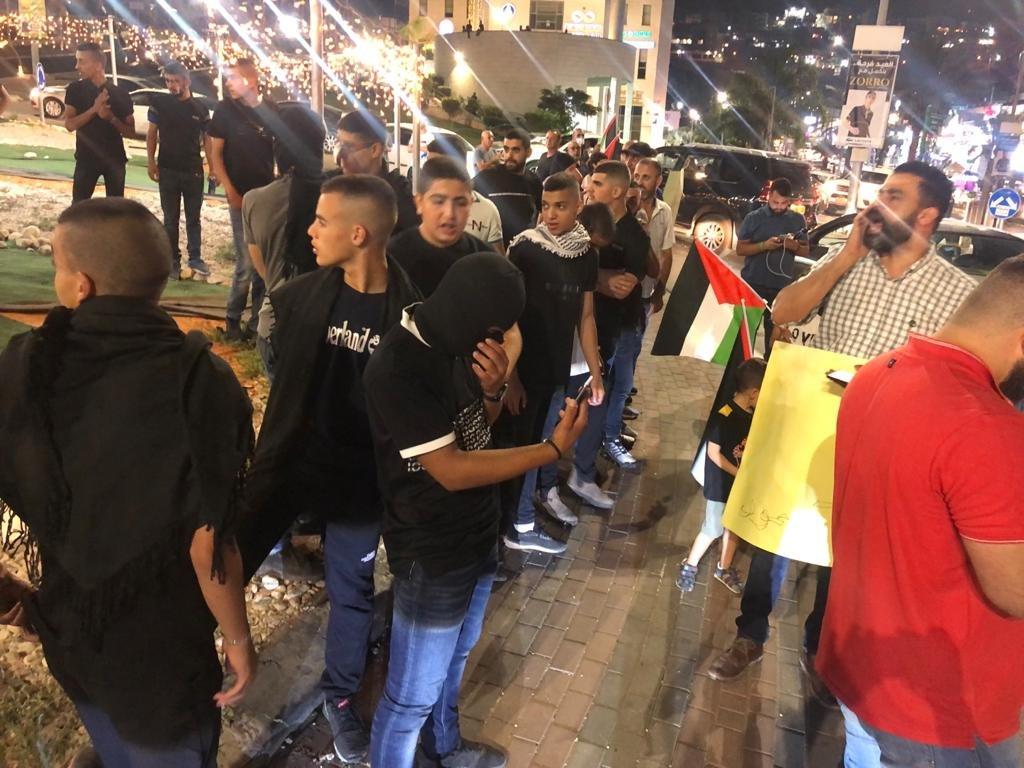 مباشر، ام الفحم: تظاهرة احتجاجًا على اقتحام المستوطنين مسجد الاقصى-0