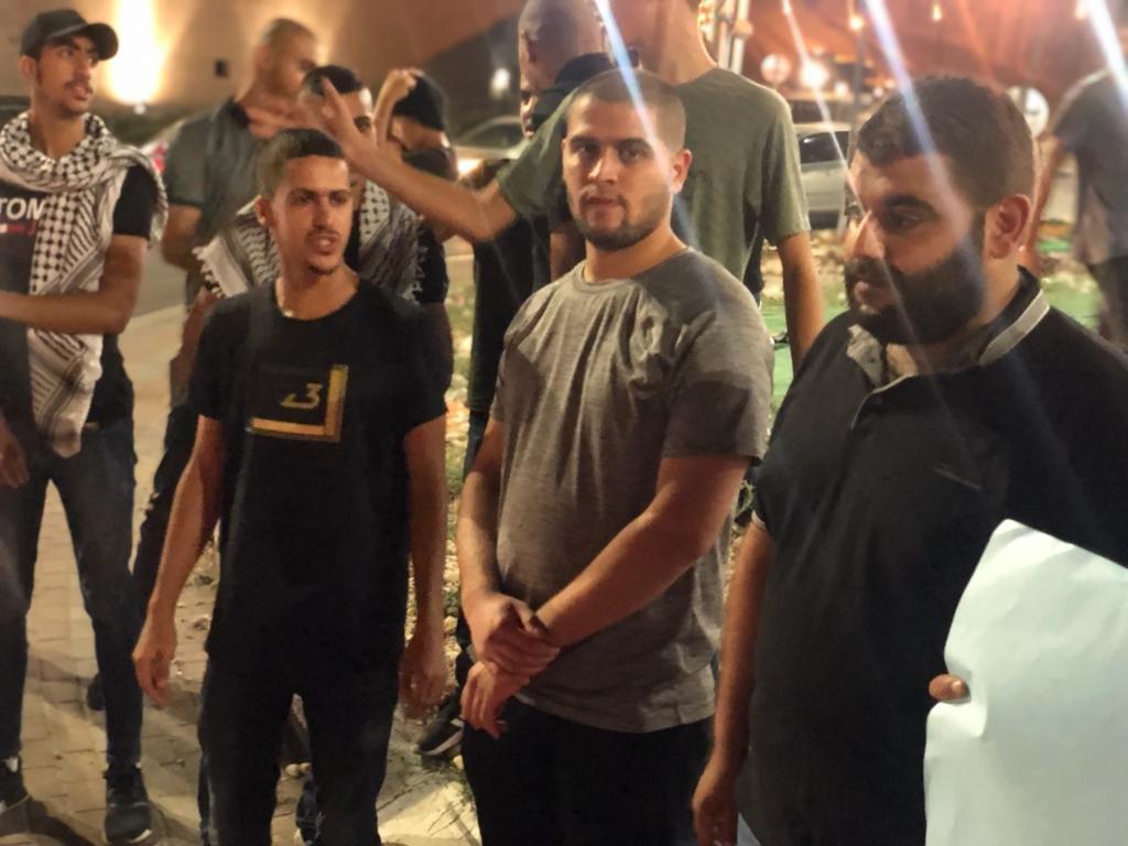 مباشر، ام الفحم: تظاهرة احتجاجًا على اقتحام المستوطنين مسجد الاقصى-1