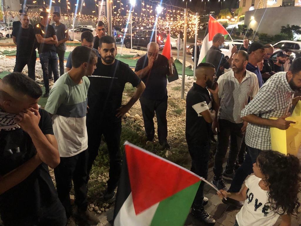 مباشر، ام الفحم: تظاهرة احتجاجًا على اقتحام المستوطنين مسجد الاقصى-3