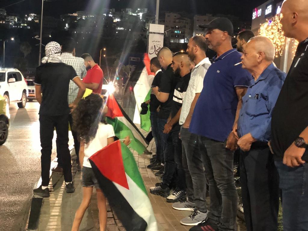 مباشر، ام الفحم: تظاهرة احتجاجًا على اقتحام المستوطنين مسجد الاقصى-5