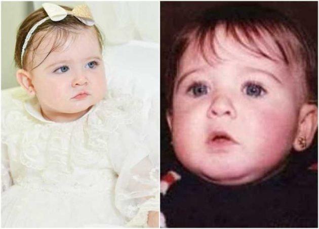 صور لطفولة نانسي عجرم تشبه فيها ابنتها ليا – (شاهد)