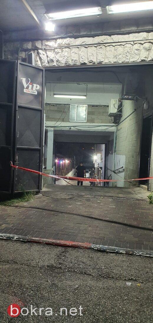 اطلاق نار في الناصر ة ومقتل نزار احمد زطمة (38عاما) من الناصرة ومحمد جبارين (22 عاما)من ام الفحم