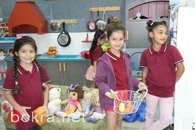 اجواء فرح وسرور في  عودة الأطفال الى الباستين والحضانات في وادي عارة