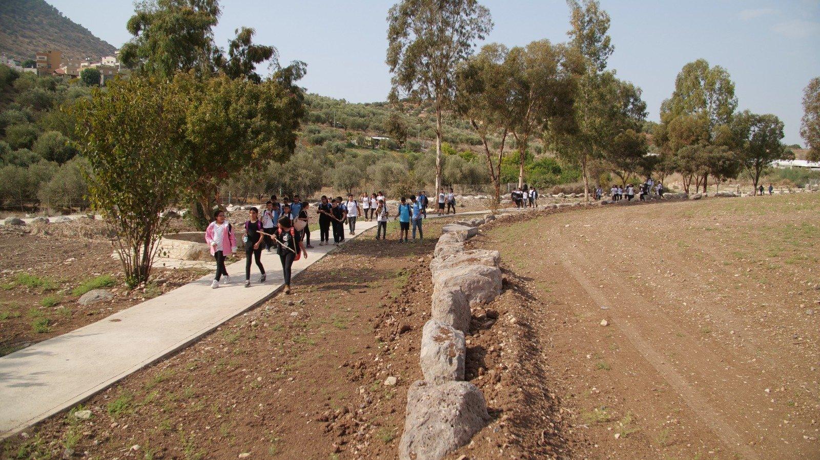 تحويل وادي المدي الى متنزه وافتتاحه للزوار-4