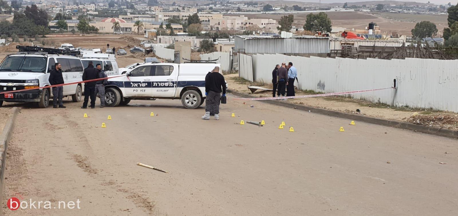 جريمة قتل أمام طلاب المدرسة في قرية السيّد في النقب!