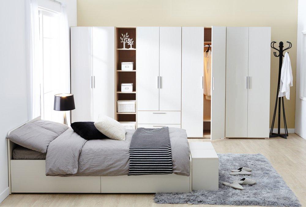موديلات خزائن حائط لغرف النوم