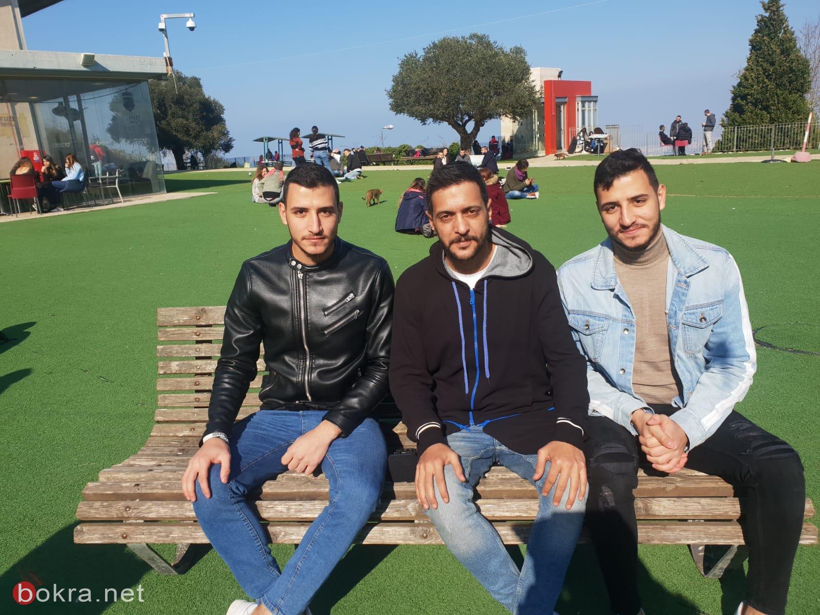 بدء الموسم الثاني من قاعدين ع بنك، شاهدوا لقاءنا مع طلاب جامعة حيفا