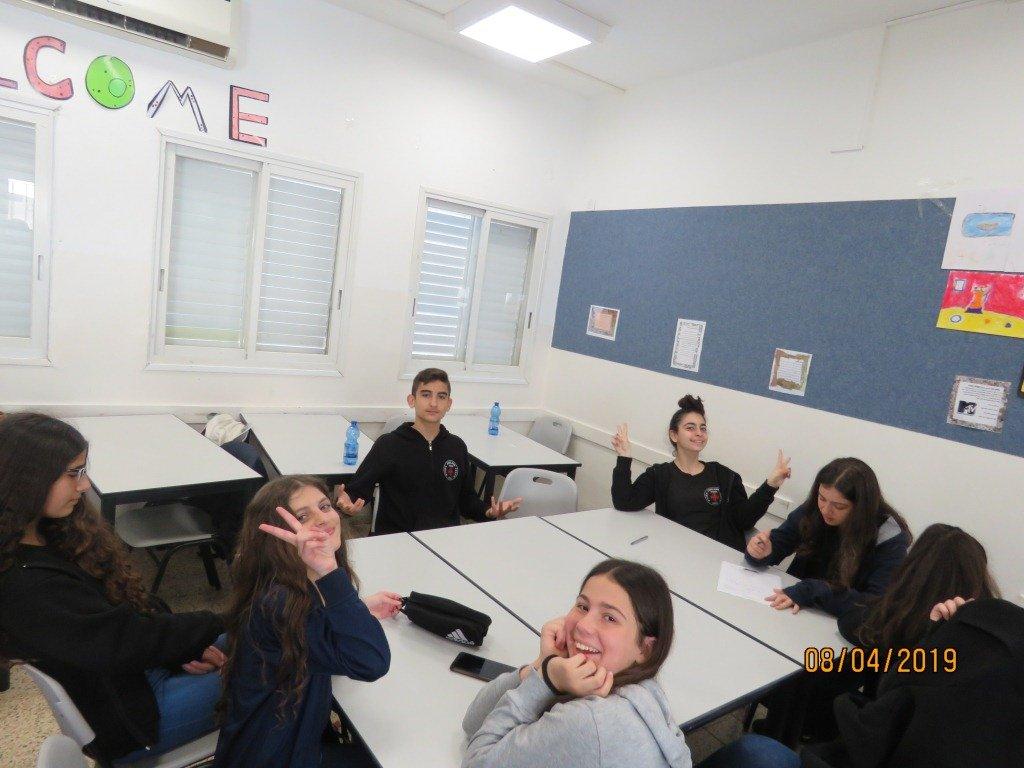 يوم اللغة العربية لغتي هويتي في المدرسة الايطالية في حيفا