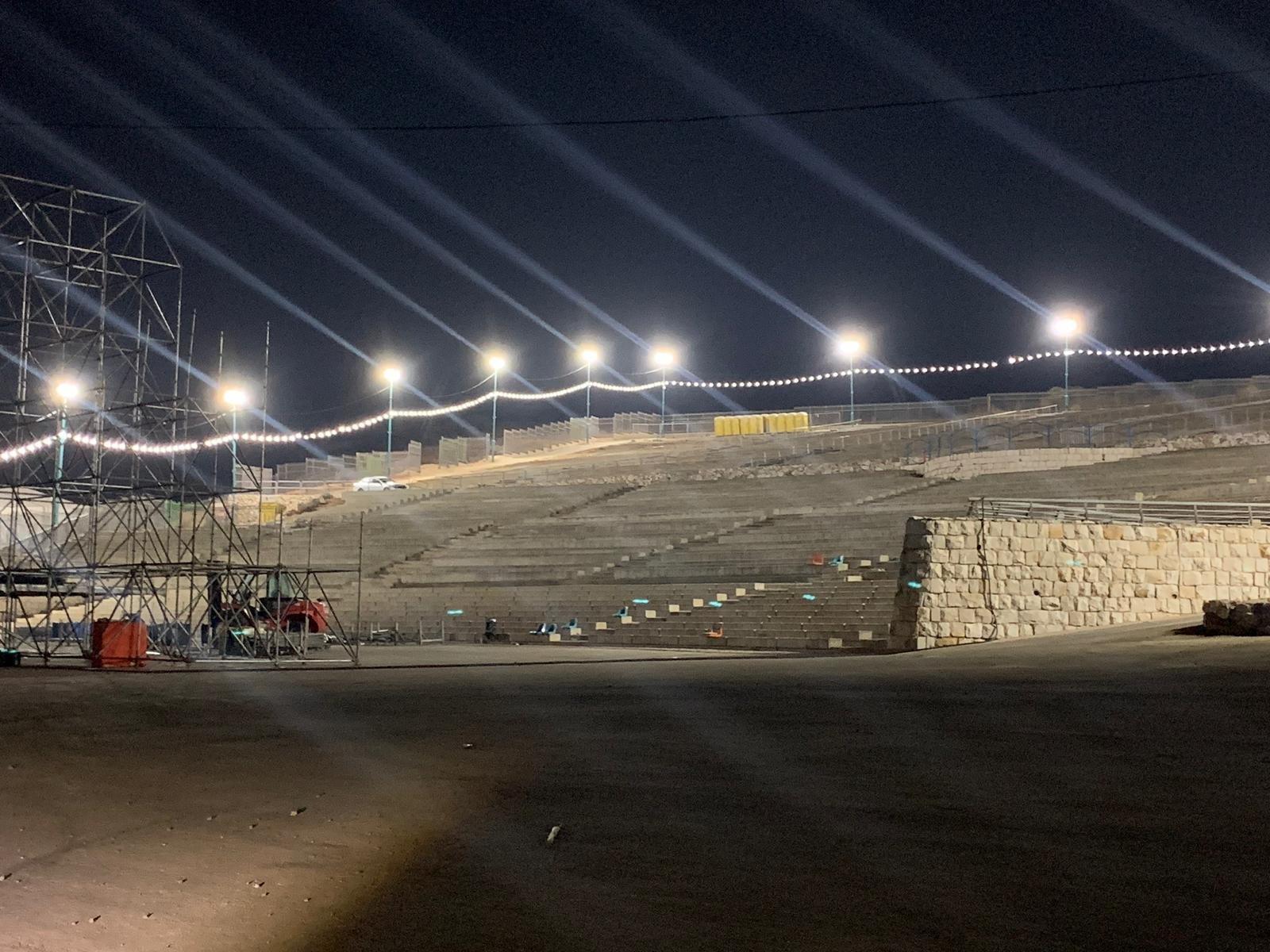 الناصرة: رغم المعارضة الشعبية الشديدة .. الاستعدادات مستمرة في جبل القفزة لاستقبال جوشوا