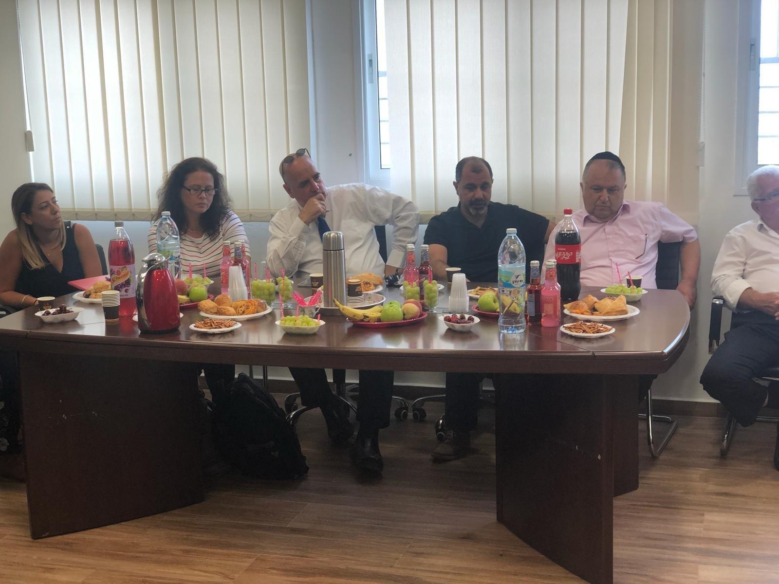 بستان المرج : لجنة النفوذ تزور المجلس والقرى