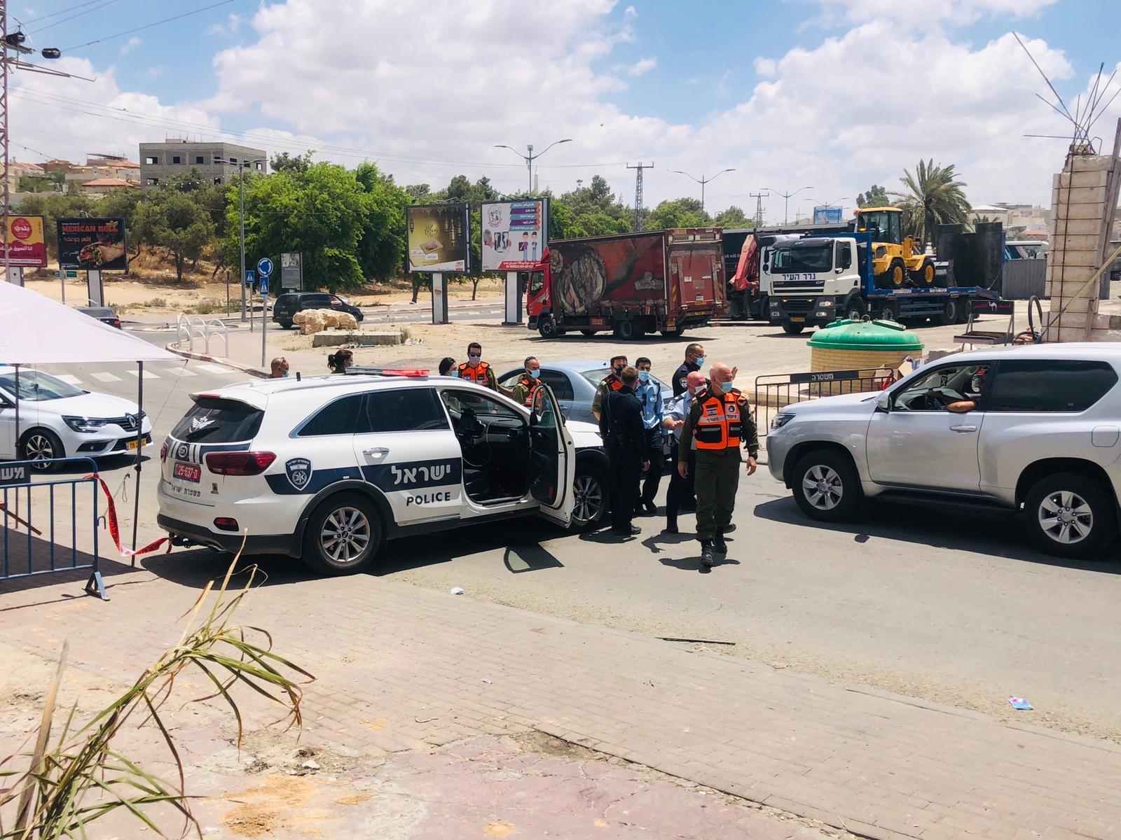 اغلاق أحياء في رهط .. والكورونا مستمر بالانتشار في البلاد .. 349 حالة آخر يوم