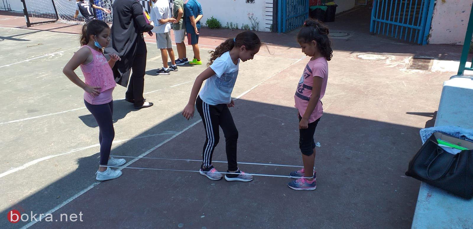 مهرجان قرانا الباقية فينا في مخيم ابتدائية كوكب ابو الهيجاء