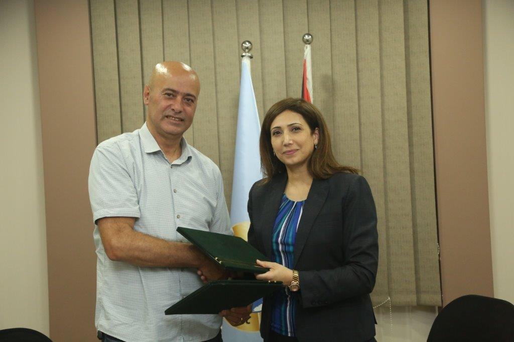 جمعية الجليل وجهاز الاحصاء الفلسطيني يوقعان مذكرة تعاون لتنفيذ المسح الصحي البيئي لعام 2020