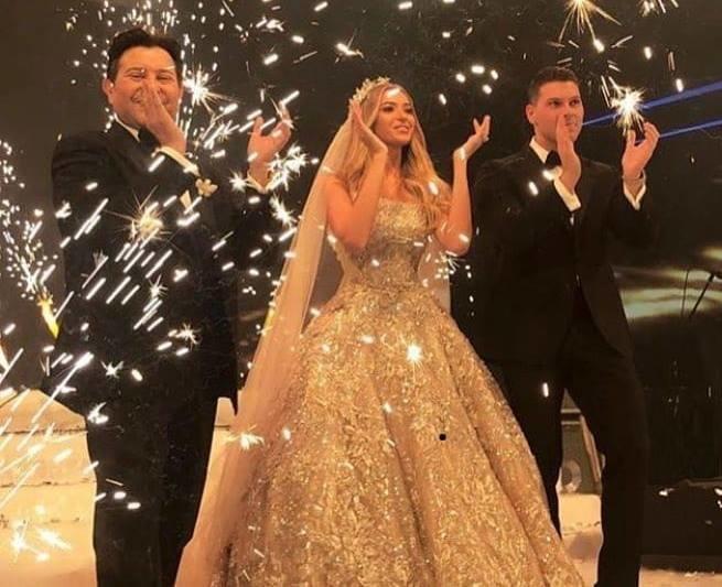 زفاف ابن هاني شاكر بحضور كل نجوم الفن ومجاملة من عمرو دياب