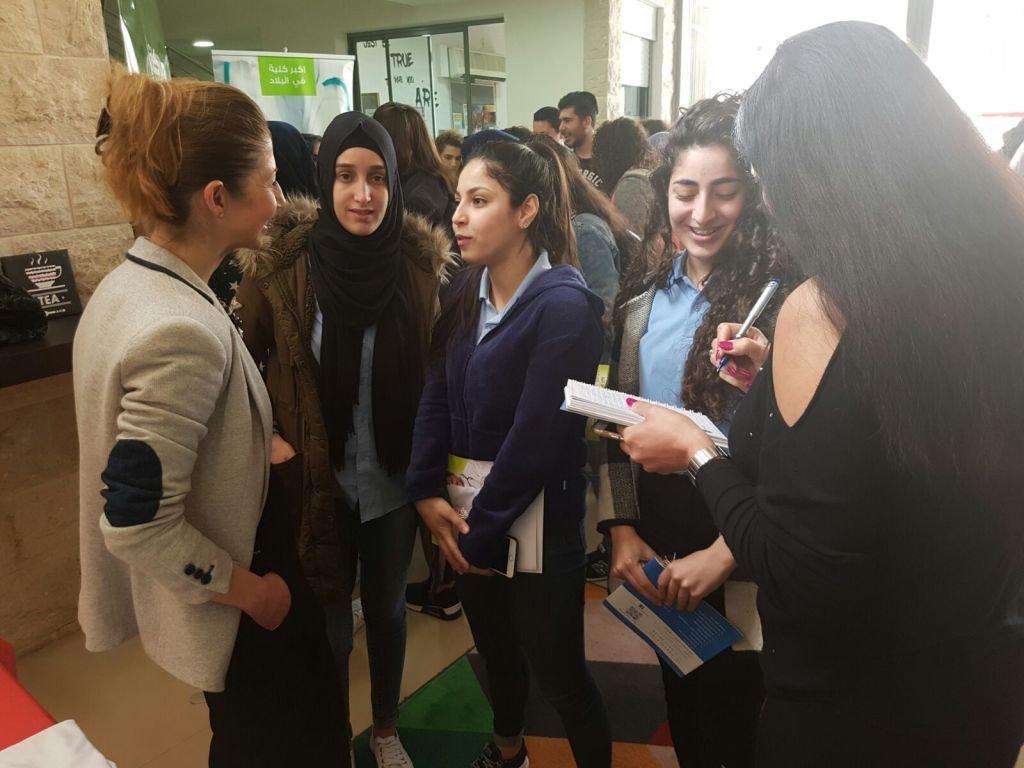 الثانوية أبو حاطوم يافة الناصرة تنظم يوم التوجيه المهني