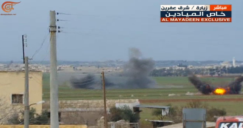 رغم القصف التركي.. القوات الشعبية السورية تدخل عفرين-0