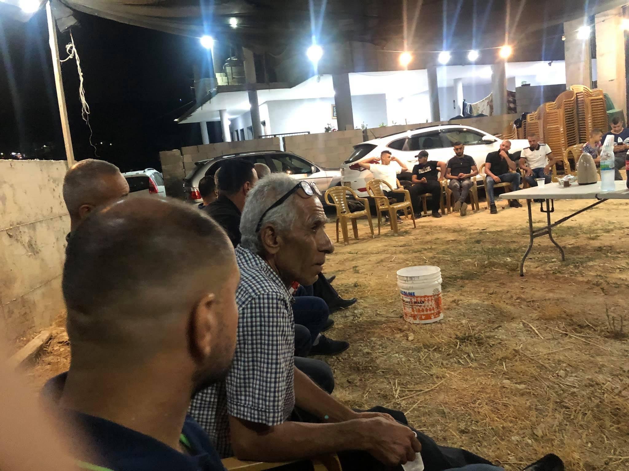 مناشدات بالتواجد في خيمة الاعتصام قرب بيوت ابراهيم مرزوق في عرعرة