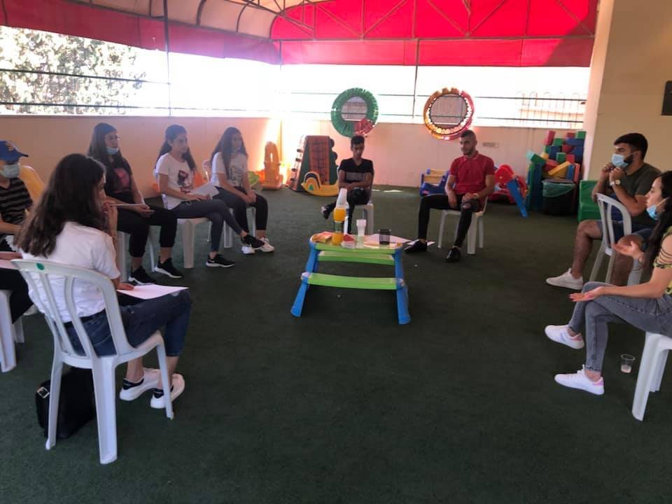 مقهى البلد: مبادرة مشروع لون بلدك بالحياة، من اجل تعزيز ثقافة الحوار