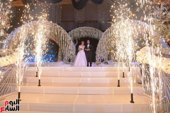 النجوم يجتمعون في حفل زفاف مصطفى خاطر نجم مسرح مصر