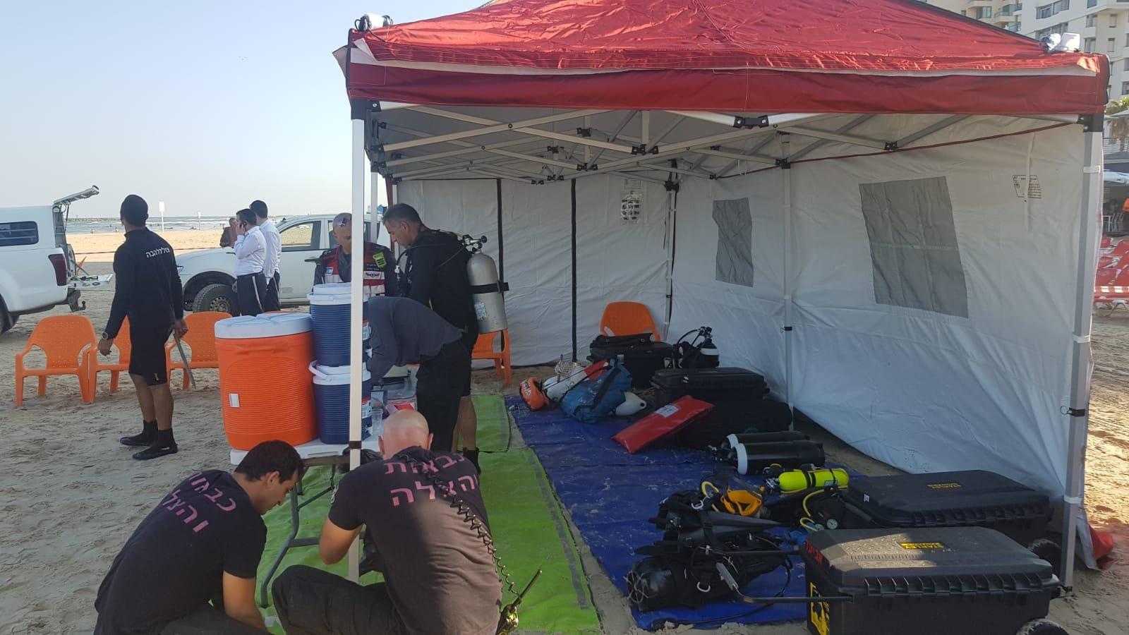 العثور على جثة شاب فقدت آثاره في منطقة شاطئ  الدولفينريوم بتل أبيب