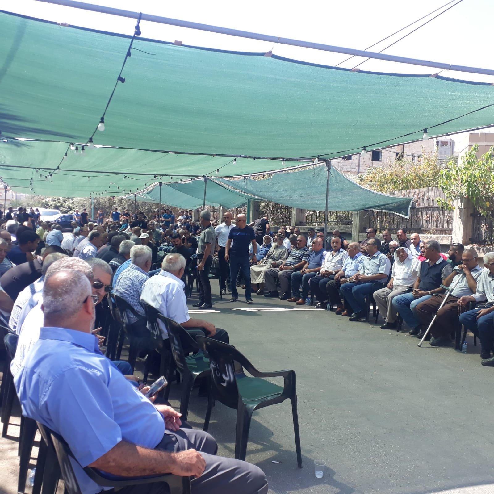 عرابة تودع فقيدتها آية نعامنة وتحتشد بالمعزين