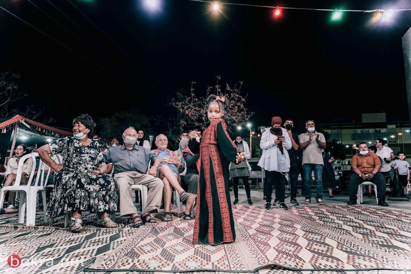 مسرح اليمامة ينظم أمسية ثقافية فنية في مدينة ديمونا-1
