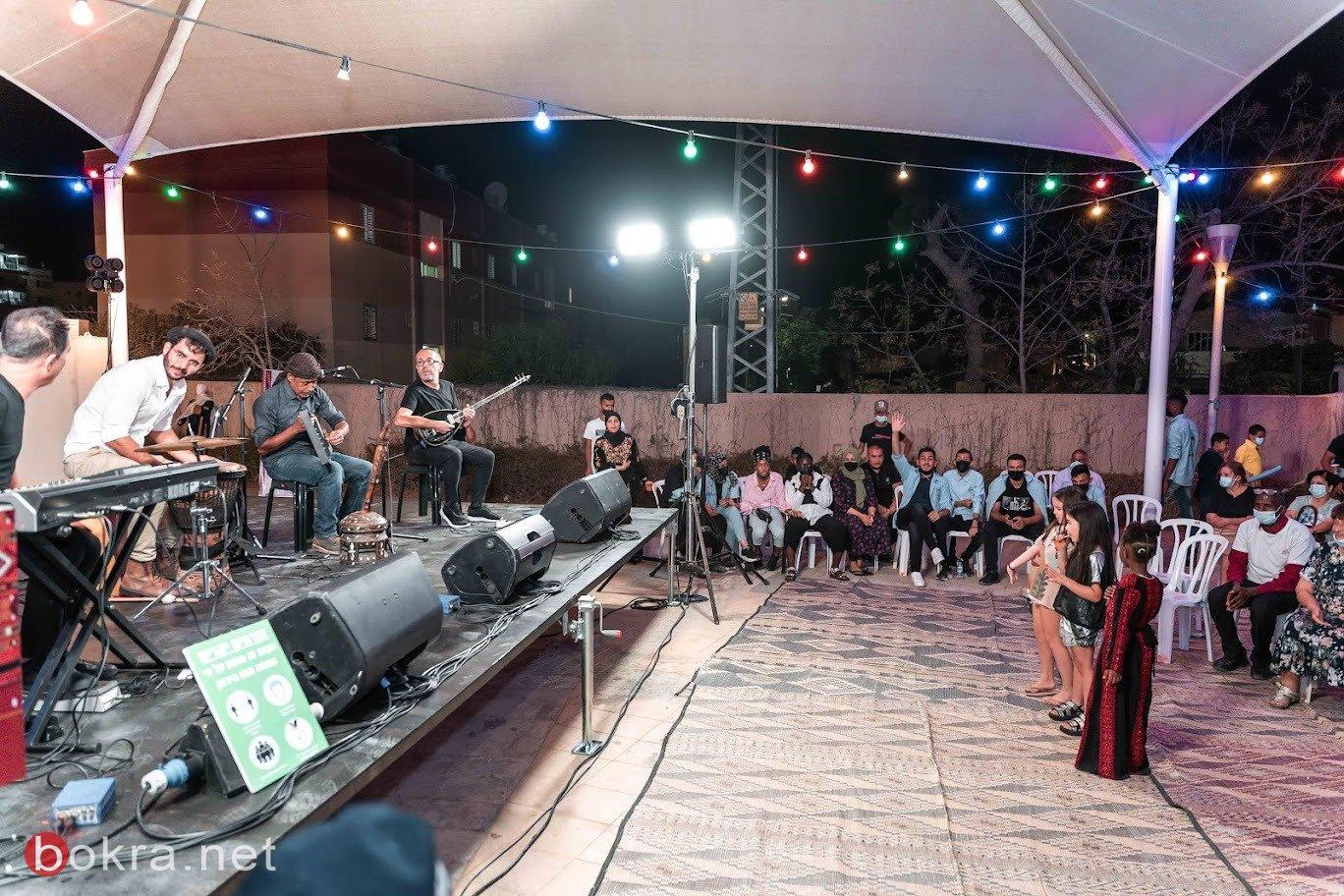 مسرح اليمامة ينظم أمسية ثقافية فنية في مدينة ديمونا-4